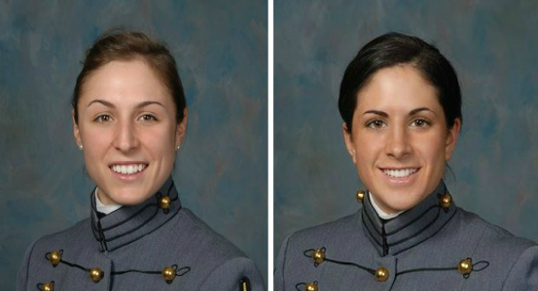The first two female soldiers to graduate from U.S. Army Ranger School