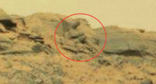 Scientists shocked by Martian Buddha statue