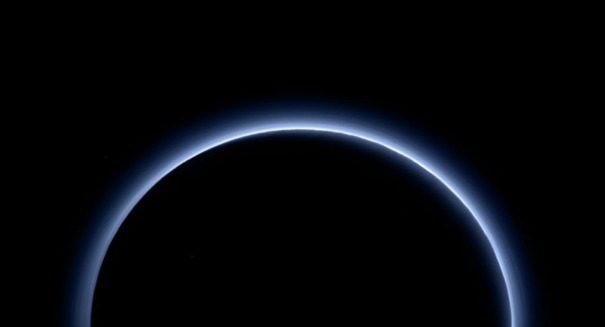 NASA reveals blue skies and frozen water on Pluto