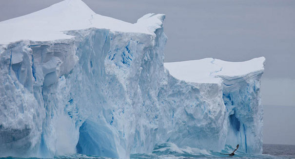 Alarming statistics: Arctic ice sheets shrinks to second-lowest level