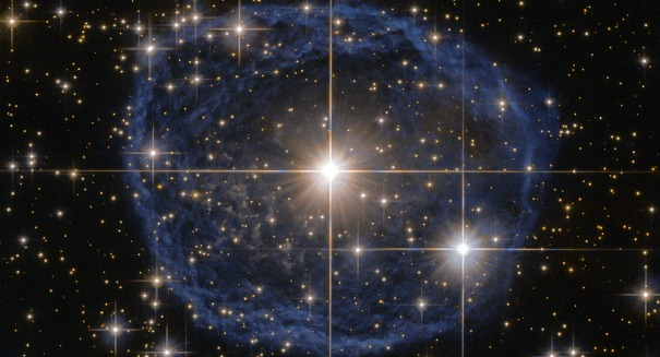 Hubble captures 'Blue Bubble' nebula in stunning new photos