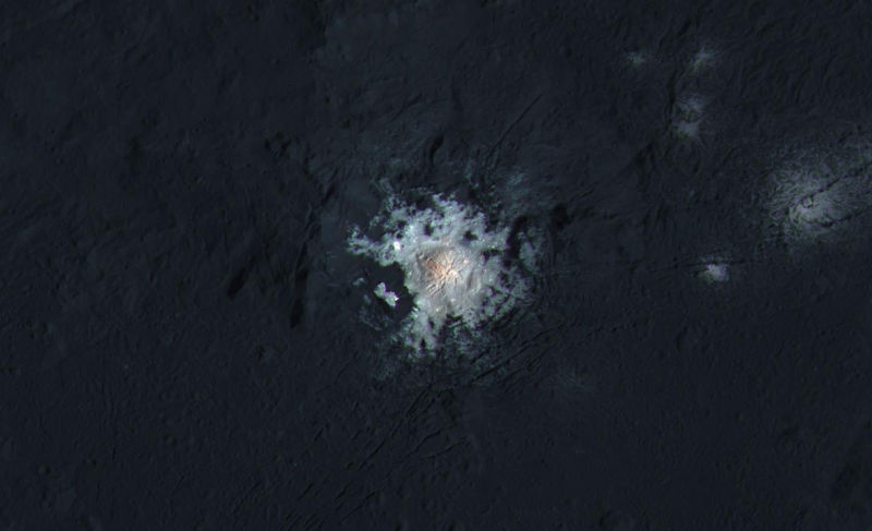 Mysterious white spots on Ceres continue to puzzle scientists