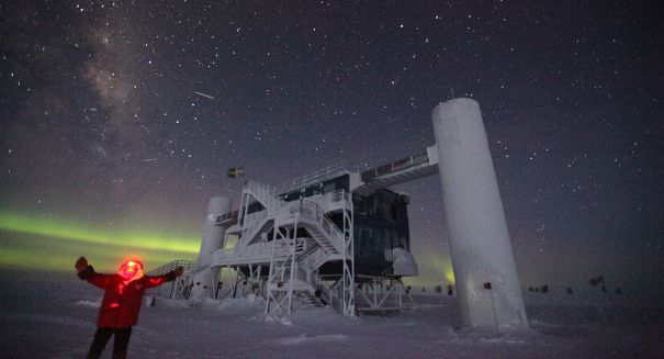 Scientists confirm neutrinos in Antarctica originate from distant galaxies