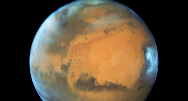 Stunning Hubble image reveals new secrets about Mars