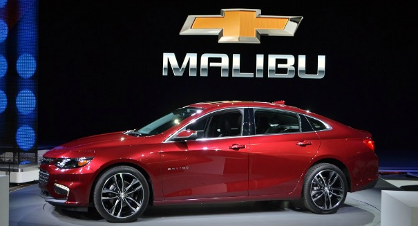 Chevy unleashes sleek new 2016 Malibu hybrid