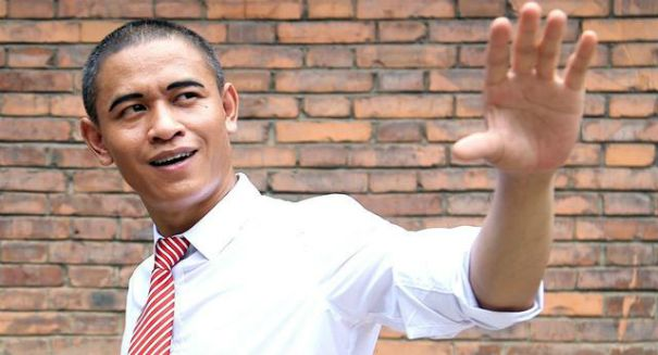 China even has an Obama impersonator