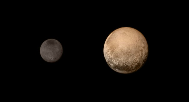 NASA releases stunning photo of Pluto's moon, Charon