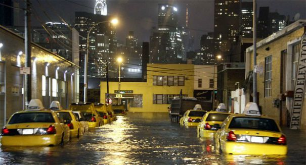 Climate change will leave NYC underwater, study warns