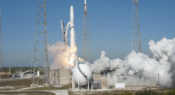 SpaceX launches used Falcon 9 rocket in test fires for first time