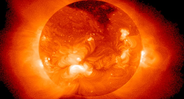 Something massive on the sun shocks scientists