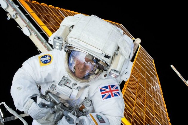British astronaut Tim Peake prepares for his return to Earth