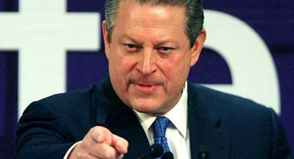 Al Gore is coming to the rescue