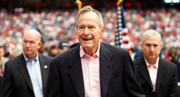 George H. W. Bush has disease similar to Parkinson's