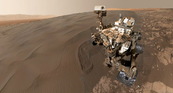 Rock-solid evidence of oxygen on Mars