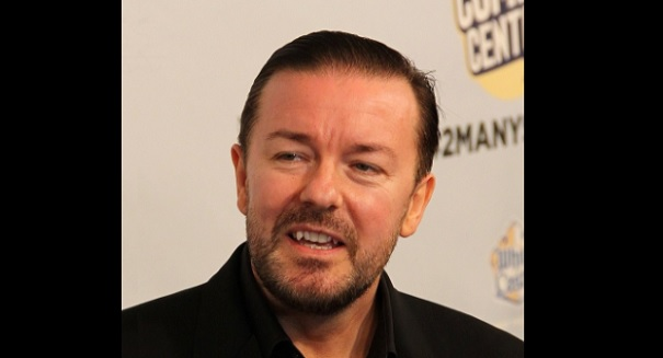 Ricky Gervais just destroyed flat-earthers with one tweet