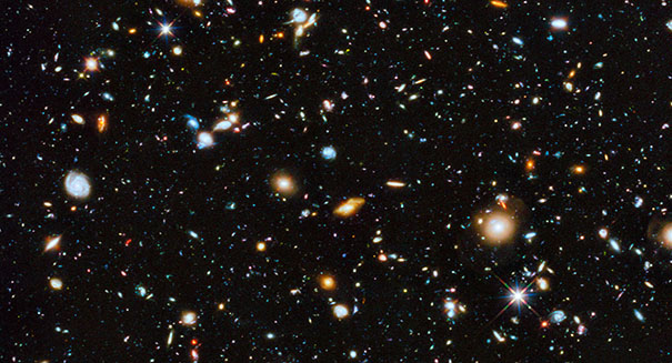 Amazing: Early-universe galaxy discovered 13 billion light years away