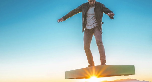 Critics are ripping on this ridiculous new hoverboard