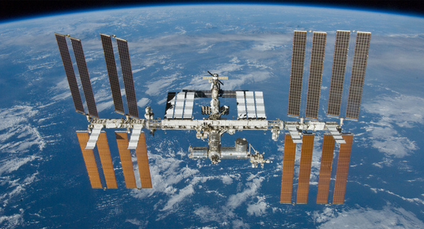 Incredible video captured on the International Space Station stuns the world