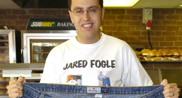 Subway's Jared Fogle released pending child porn plea