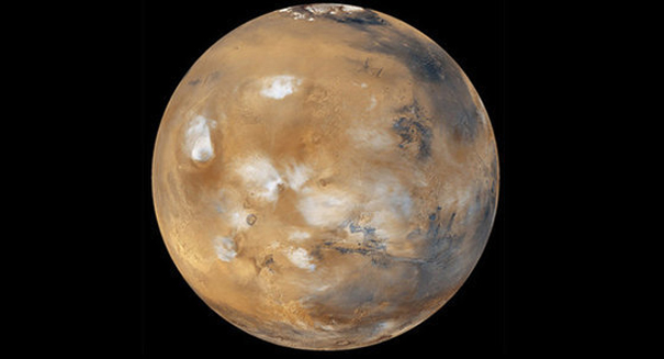 Climate change causing polar ice to shift – on Mars