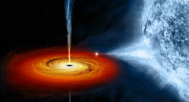 Scientists are doing something astonishing at a black hole