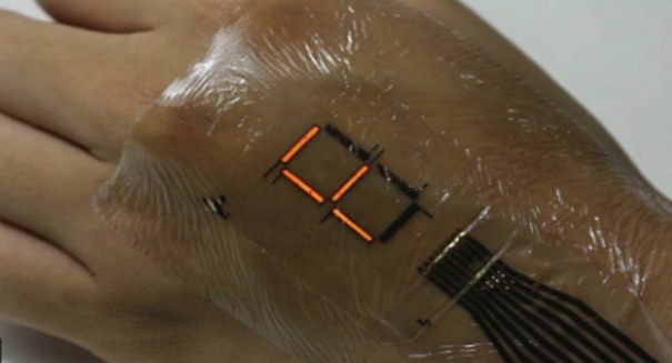 Scientists stunned by super thin e-skin display